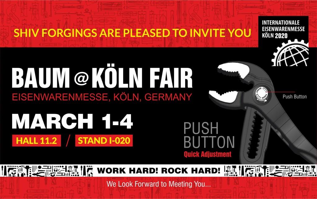 Koln Fair Invitation
